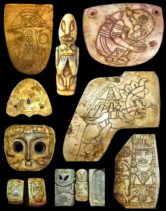 Incredibly Mysterious Artifacts Revealed – Mayan? UFOs ... Mayan Civilization Artifacts